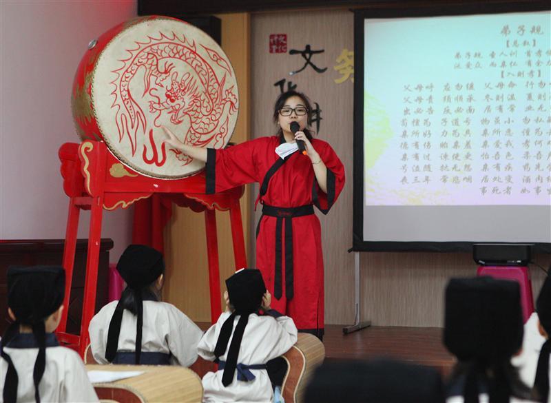 """参加社区活动——""""七岁开蒙礼""""——龙湾心桥..."""