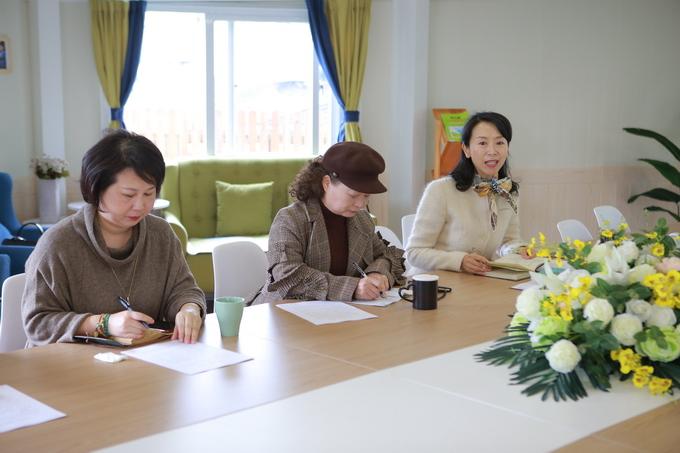 瓯海区托幼一体化领导、专家来我园调研及机构...
